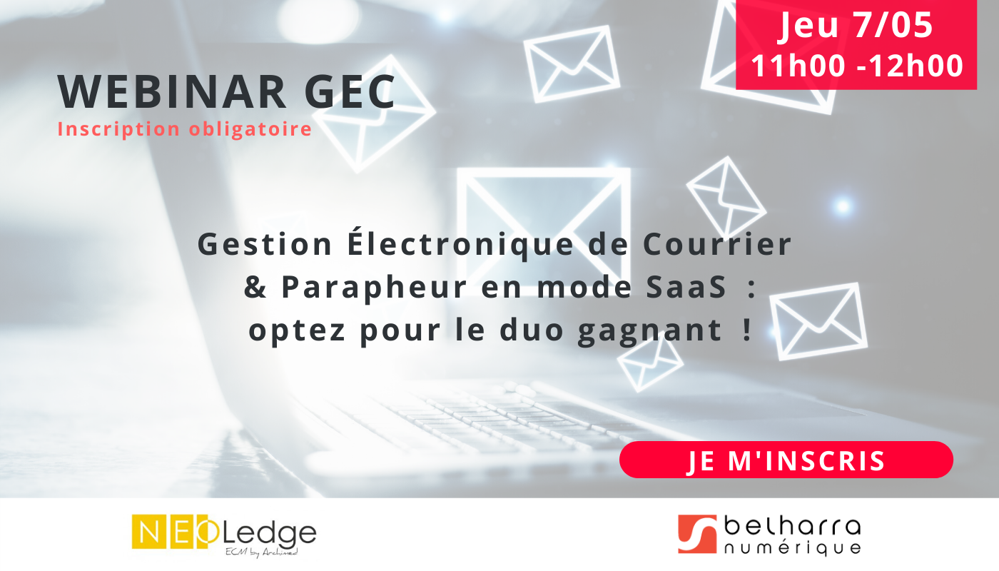 gestion electronique de courrier Mai