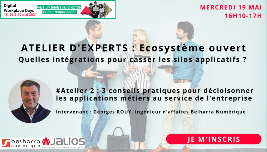 [DIGITAL EVENT] Salon Digital Workplace Days - Vers un télétravail hybride et éco-responsable 2